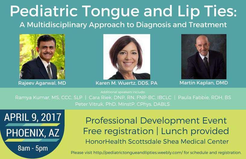 pediatric tongue tie edu event