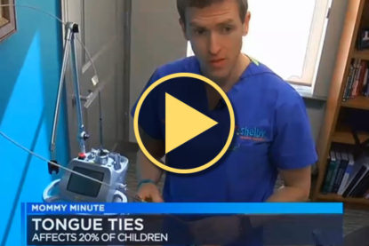 In The News – Dr. Richard Baxter interviewed about tongue-tie treatment
