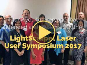 LightScalpel Laser User Symposium 2017 – Thanks Video