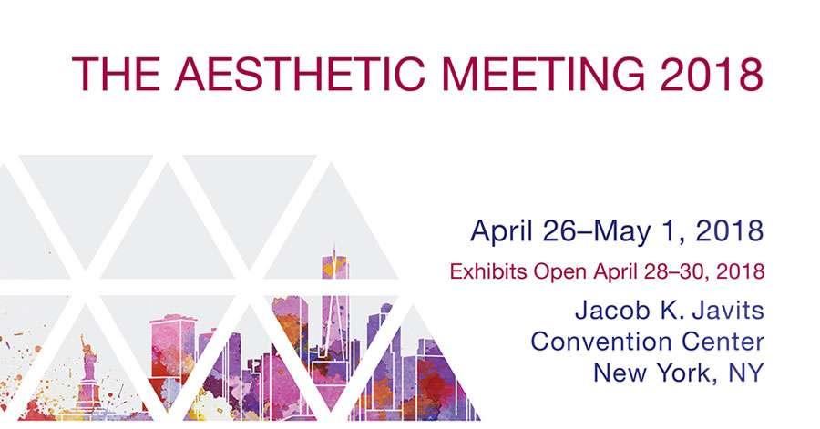 aesthetic meeting 2018