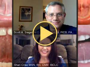 Scott Siegel, MD, DDS, Laser Tongue and Lip Tie Interview