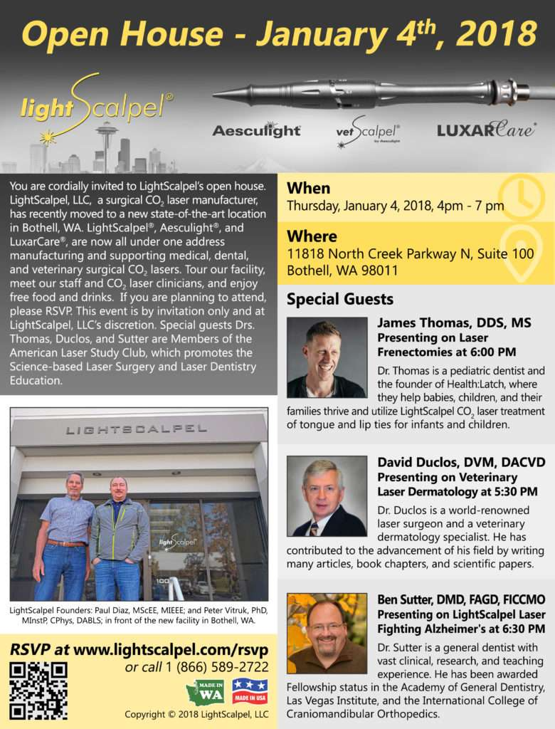 lightscalpel open house jan 2018
