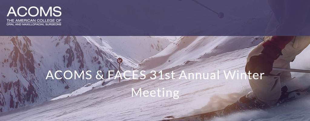 ACOMS FACES Winter Meeting 2018