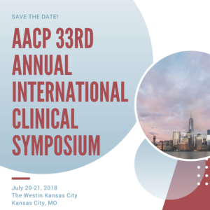 AACP Symposium July 2018