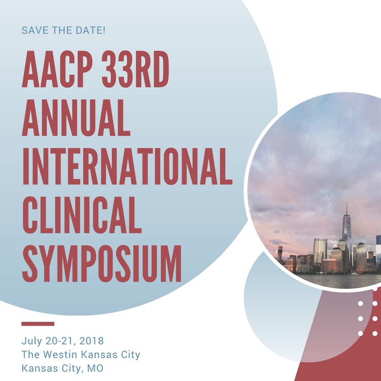 AACP Symposium July 2018