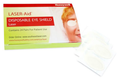 LightScalpel now offers LASER-Aid Disposable Eye Shields as an alternative to traditional safety glasses