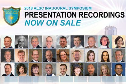 Video Presentations From the 2018 American Laser Study Club Symposium
