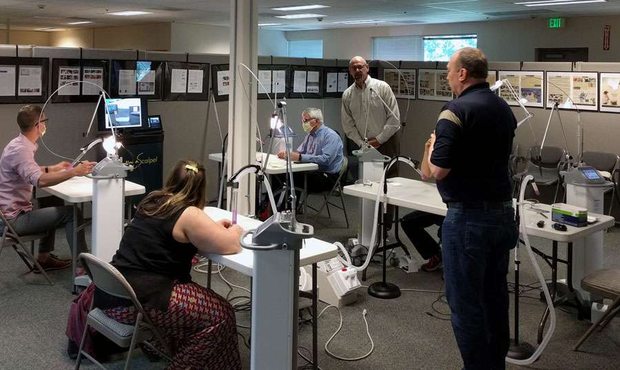 co2 surgical laser training