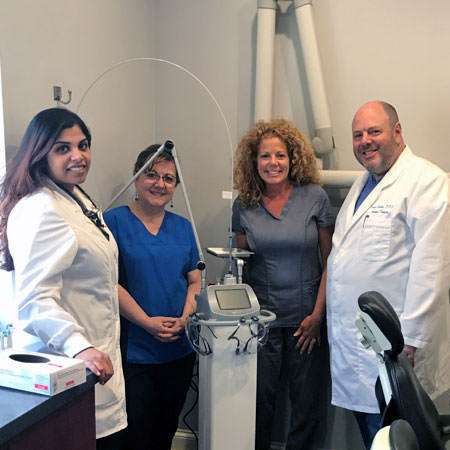 try a surgical laser