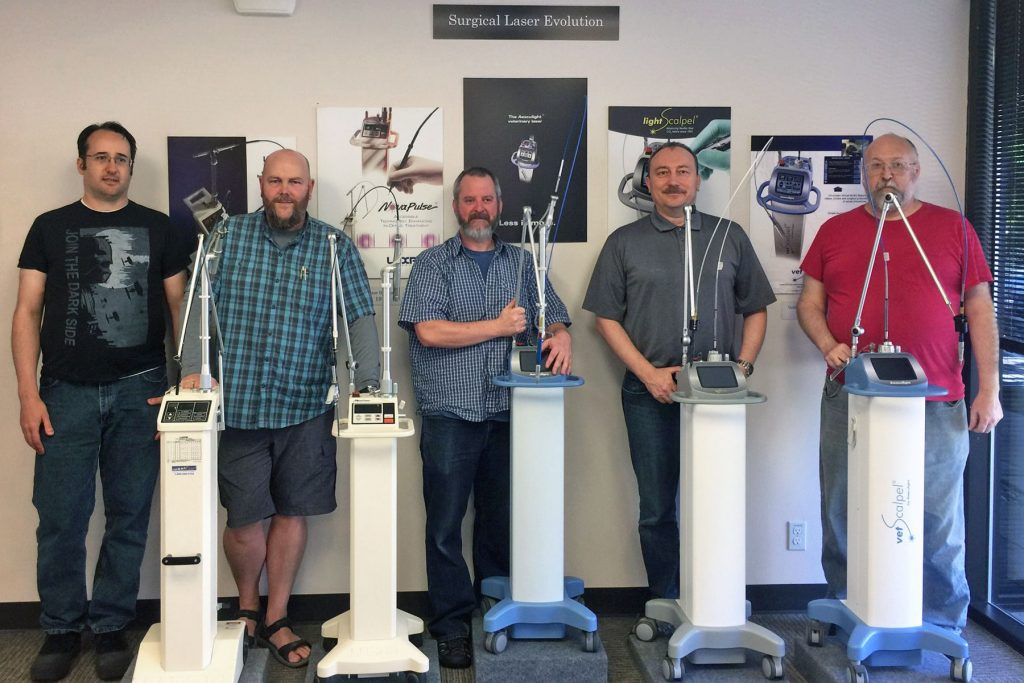 CO2 Laser History - Dan Warren - Sean Neve - Jeff Porter - Peter Vitruk - David Lane