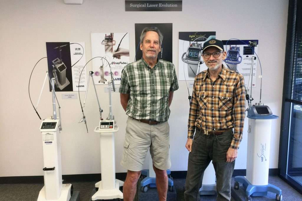 CO2 Laser History - Paul Diaz and Mike Levy