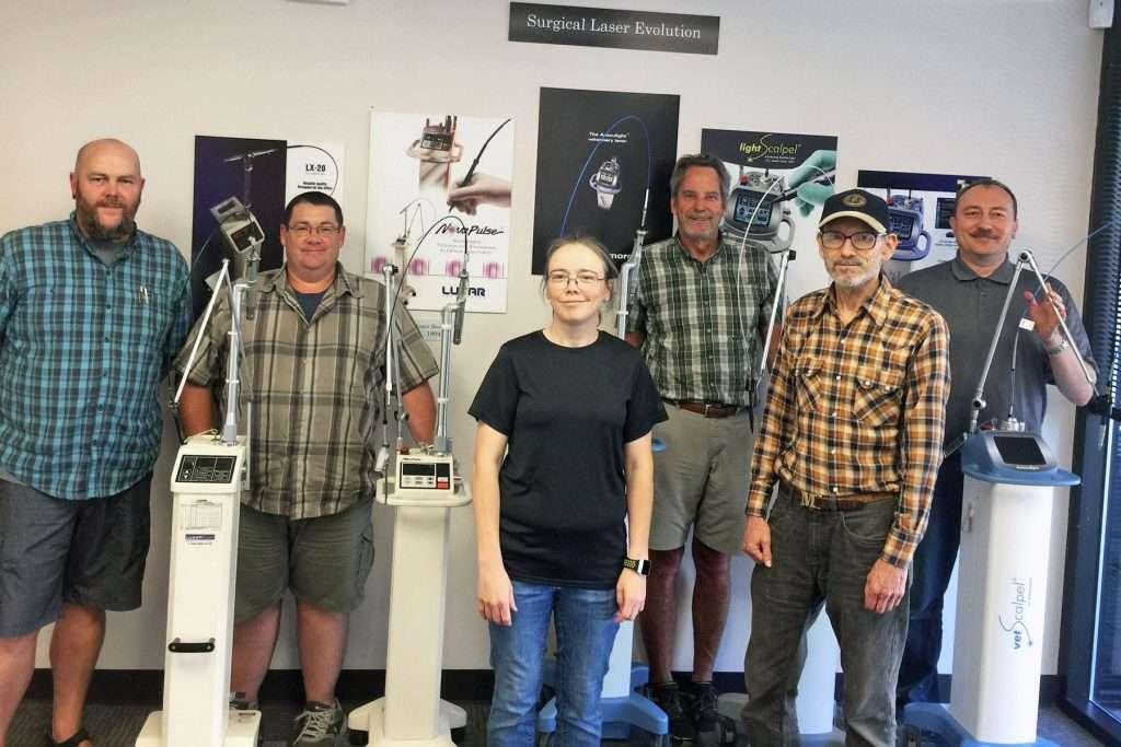 CO2 Laser History - Sean Neve - Dave Walters - Julie Neve - Paul Diaz - Mike Levy - Peter Vitruk