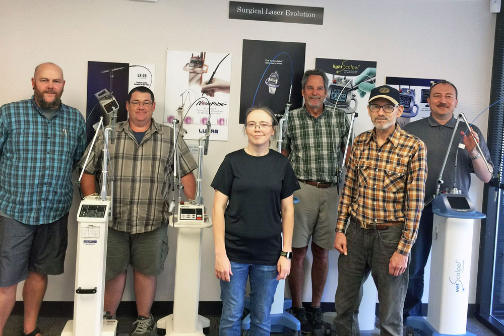CO2 Laser History - Sean Neve - Dave Walters - Julie Neve - Paul Diaz - Mike Levy - Peter Vitruk