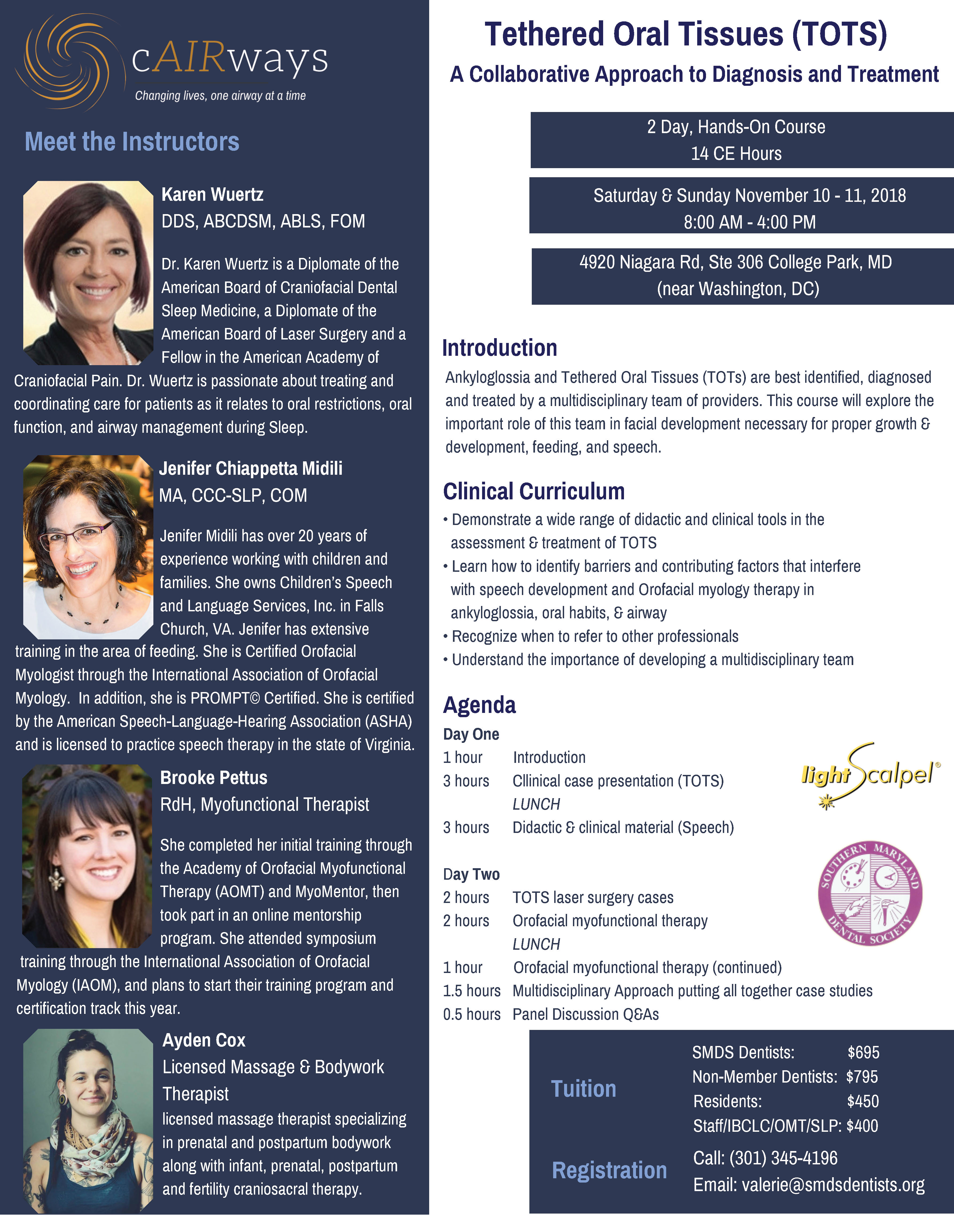 Tethered Oral Tissues Course
