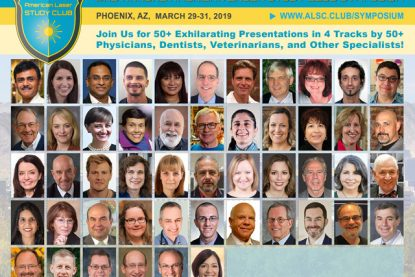 The American Laser Study Club 2nd Annual Symposium – Speaker Lineup Announcement
