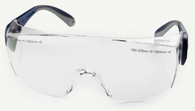 6 inch adult laser safety glasses