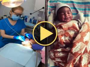 Leslie Haller, DMD, and LightScalpel laser frenectomy helps baby boy Video