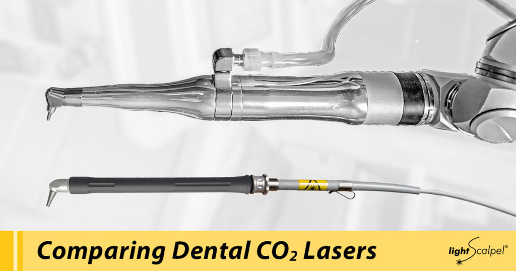 comparing dental laser handpieces