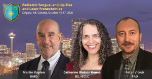 Calgary Tongue Tie Course 2020 pediatric