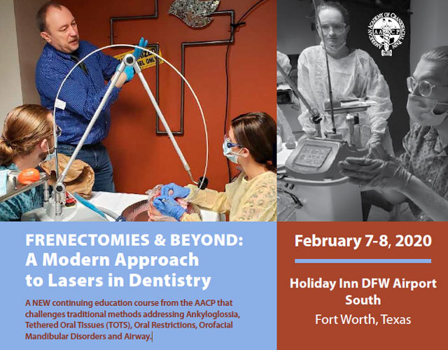 frenectomy course fort worth 2020