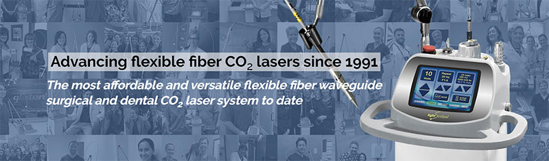 Flexible Fiber Surgical and Dental CO2 Lasers