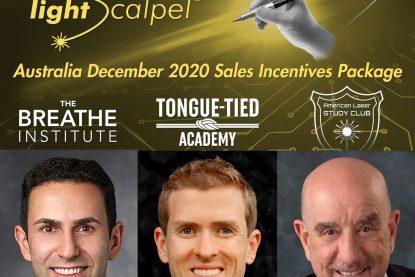 LightScalpel's December 2020 Sales Incentives Package for Australia