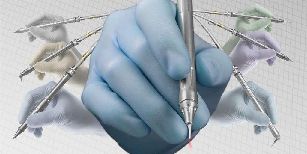 LightScalpel handpieces surgical dental laser