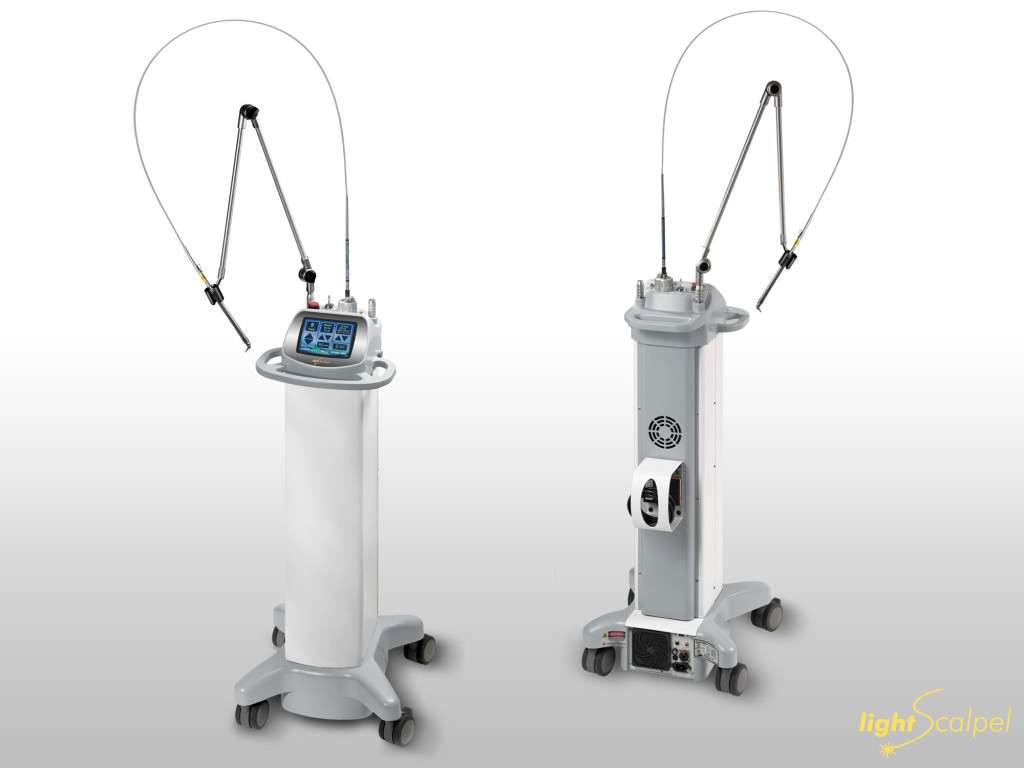 LS 1005 Dental Lasers front and back