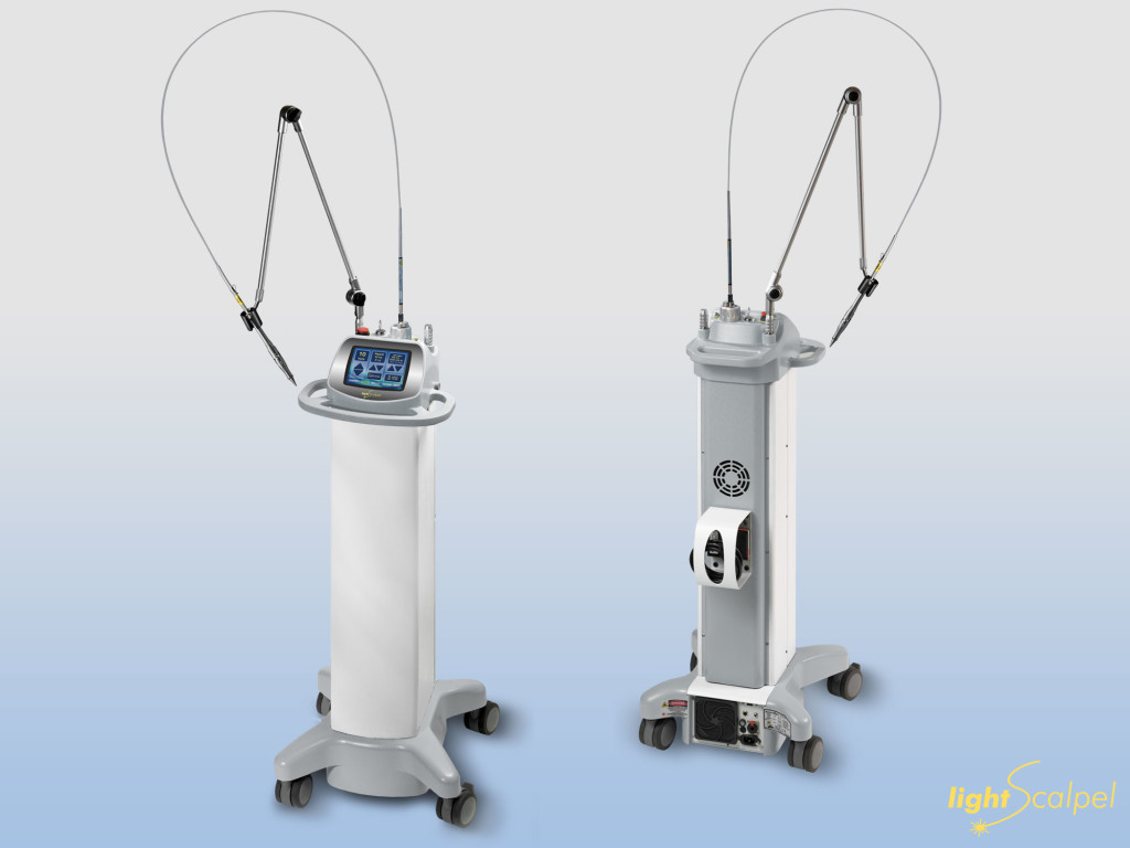 LS 2010 CO2 Surgical Laser   Front and Back