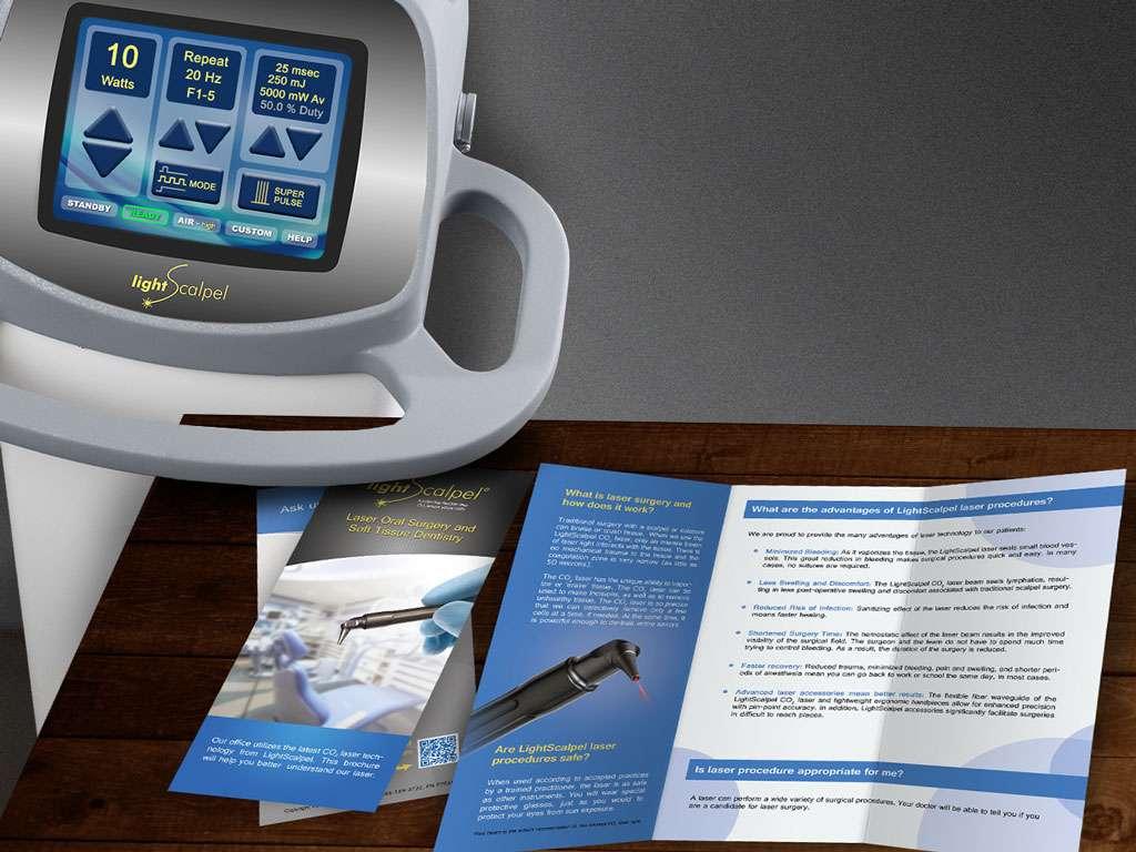 marketing co2 dental laser brochures